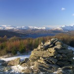 WIndermere from Brantfell