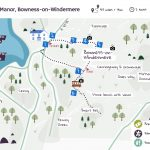 The Beer Garden Map of The Lake District